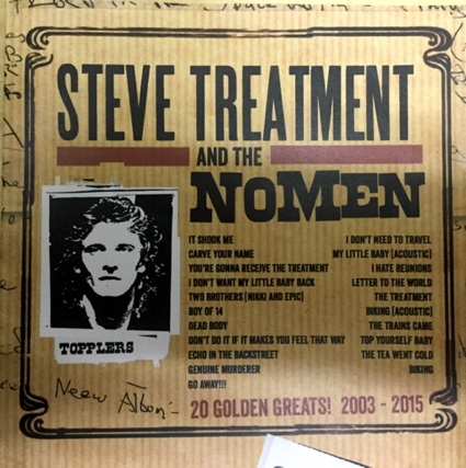 Topplers CD. Best of Steve Treatment and The NoMen 2015